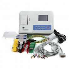 Contec ECG300G Digital 3 Channel 12 lead ECG/EKG machine +software Electrocardiograph